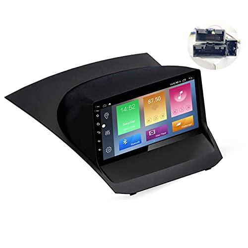 9 pulgadas pantalla Android 10 coche estéreo para Ford Fiesta 2009-2017 Radio incorporado Carplay Android Auto Soporte AI Control de voz Bluetooth 5G WiFi FM AM Radio Espejo Link Navegación GPS SWC