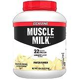 Muscle Milk Genuine Protein Powder, Banana Crème, 32g Protein, 4.94 Pound, 32 Servings