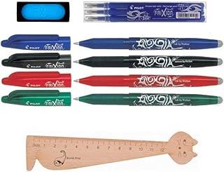 1/caja de 12/cartuchos de tinta Lot Pilot Parallel Pen 1,5/mm 1/caja 6/cartuchos negras varios colores 1/regla marcap/áginas en madera blumie