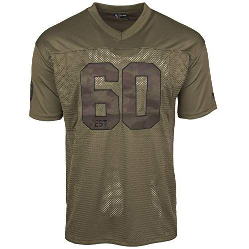 New Era NFL Jersey Mesh Trikot - CAMO Oakland Raiders - L