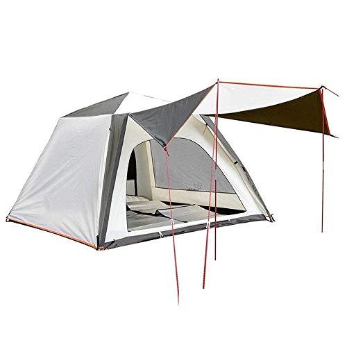 N/Z Equipo de Campamento Camping al Aire Libre Velocidad automática Abierto a Prueba de Lluvia Equipo de Pesca en la Playa Mochila Impermeable 280 * 210 * 135 CM Tienda de campaña automática