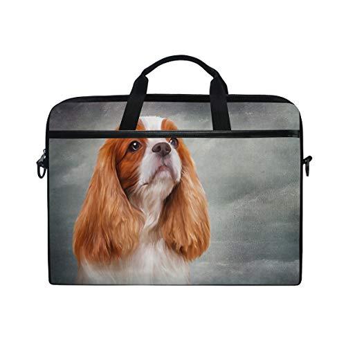 Chic Houses Cute Dog Laptop Bag Case for Men Women Computer Bag 2030127