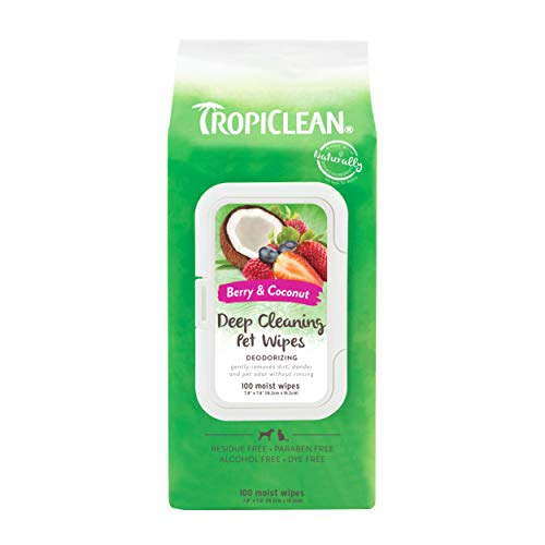 Deep Cleaning Wipes for Pets, 100ct