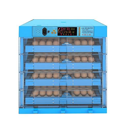 Vollautomatische Brutmaschine Eier Brutapparate Für Terrarien Motorbrüter Hühner Inkubatoren Für Geflügeleier Schlüpfen Von Küken (Color : 256 egg, Size : Dual power)