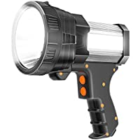Glandu 9600mAh Super Bright Spotlight 6000 Lumen LED Flashlight
