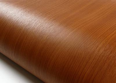 ROSEROSA Peel & Stick Premium Wood Backsplash Contact Paper & Border Sticker Self-adhesive Wallpaper Shelf Liner Table and Door Reform