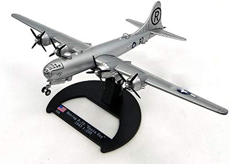 WWII British Boeing B-29 Enola CAY 1945 1 200 diecast Model Aircraft
