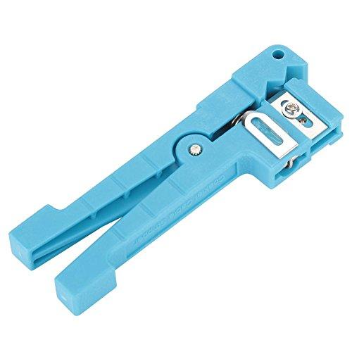 Taidda- Koaxialkabel-Abisolierzange, leicht, kompakt 45-163 45-162 Abisolierzange für Glasfaser-Ummantelung Koaxialkabel-Abisolierzange zum Abisolieren von Simplex-Fasern(#2)