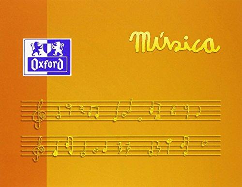 Oxford 378534 - Cuaderno de música, 1 unidad