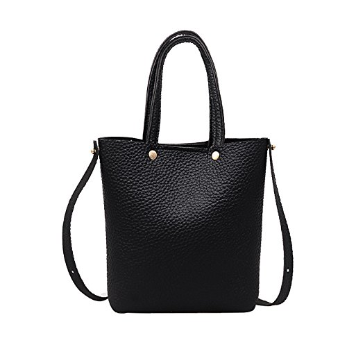 Review Of Leaf2you Women's Artificial Leather Shoulder Bags Lychee Pattern Handbag Handbag Corssbody...