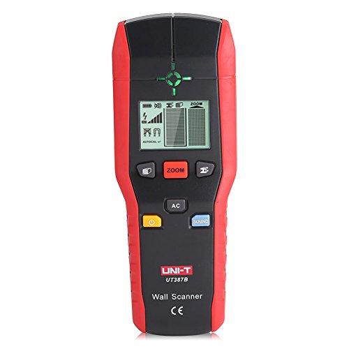 Fdit Detector de Pared Profesional Buscador Detector de Mano Digital Madera Cable de Metal de CA Herramienta de Detección de Alambre Eléctrico