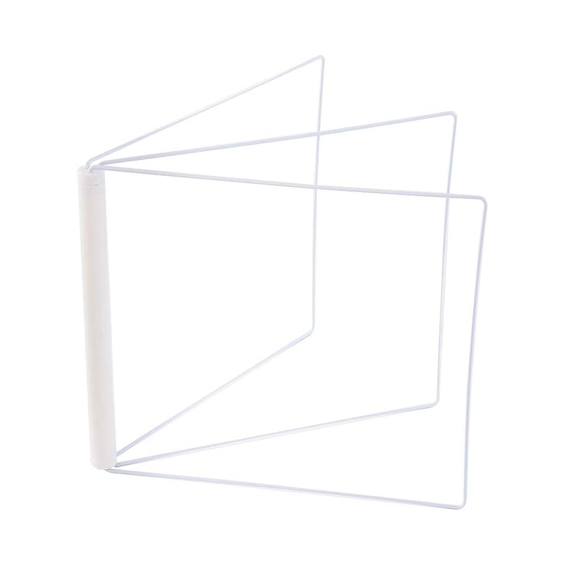 知っているに立ち寄る刻むリクルートRaitver 折り畳み布巾ハンガー キッチン タオル掛け 台所 収納 スタンド式 (ホワイト)