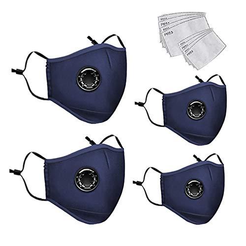 MIRRAY Mode Unisex Outdoor Gesichtsbedeckung -Sicherheit Staubdichter Mundschutz Waschbare Gesichtsschals Bandanas