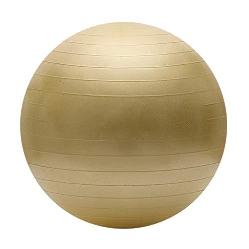 Übung Ball Dicke Anti-Burst Übung Ball Übung Gymnastikball Anfänger Balance Workout Fitness Ideal für Yoga Pilates oder Geburtstherapie (Farbe : Red Gold, größe : 75cm)