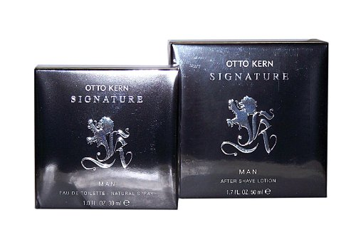 OTTO KERN SIGNATURE MAN 2 tlg. Setangebot: After Shave Lotion 50 ml + Eau de Toilette Spray 30 ml