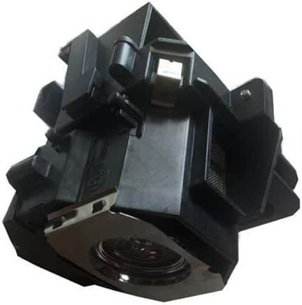 4EVER Replacement Lamp Bulb Fit for EPSON H257B H262B H262A H305B Projector,with housing