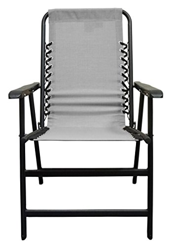 Caravan Sports TSC50124 Suspension Grey Folding Chair