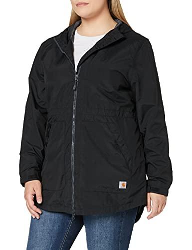 Carhartt Rockford Jacket Chaquetas, Negro, XL para Mujer