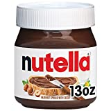 One 13 oz jar of delicious Nutella hazelnut spread, the perfect topping for pancakes, waffles, toast, and more The Original Hazelnut Spread…unique in all the world. Made from quality ingredients like roasted hazelnuts and cocoa. Packaged in the iconi...