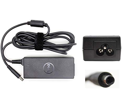 Dell Genuine Charger Inspiron 14 5482 Laptop 19.5V 2.31A 45W Charger Ac Adapter with UK Power Cord – 1 Year Warranty