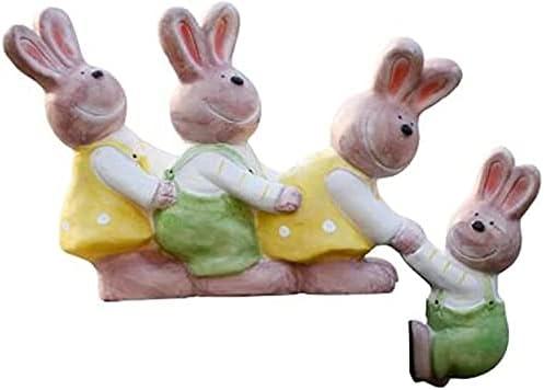 CFDZCP Garden Sculpture Rabbit Outdoor Genuine Statues 2021new shipping free