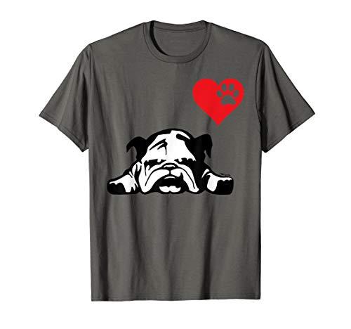 English Bulldog TShirt I LOVE MY ENGLISH BULLDOG DOG T-Shirt