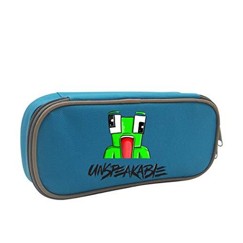 Kengret Makeup-Tasche mit Reißverschluss, für Schule und Büro ONE_SIZE blau