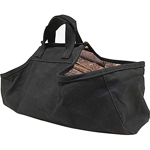 New Souleden Firewood Log Carrier Tote Bag Rack Storage Bag Fireplace Firewood Totes Holder Woodpile...