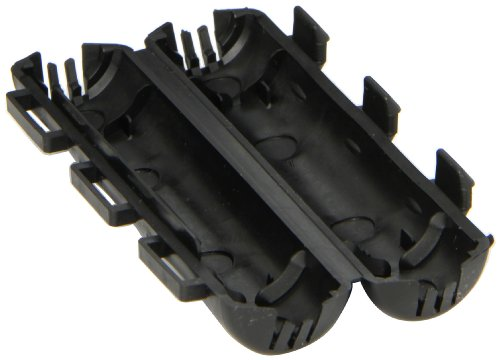 Dual Rated Compression Connector, Insulating Cover for WR Series Tap Connector, All 5/8' OD Sleeve - 2' Long/Less Capacity, Black Connection Length