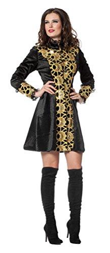 Karneval-Klamotten Jacke Gold Steampunk Jacke Russin Kostüm Damen Jacke Damen-Kostüm Karneval