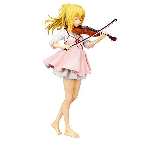 N / A Anime Your Lie in April Miyazono Kaori PVC Figura 23 cm