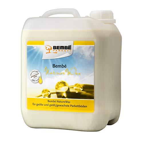 Bembé NatureWax Pflegewachs für geöltes/gewachstes Parkett 5 Liter
