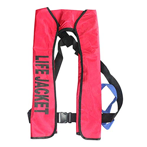 TOPmontain Life Jackets Vest for Adult, Automatic Life Jacket, Super...