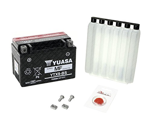 YUASA Batterie für Honda CBR 600 F, 1991-1994 (PC25), wartungsfrei, inkl. Pfand €7,50