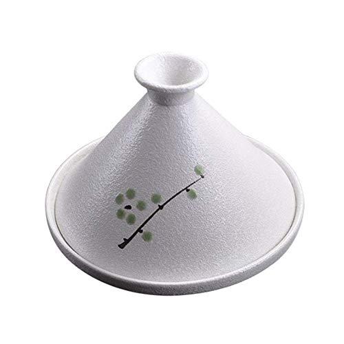 GYCS Marokko ne 21cm handgemachter handbemalter Topf Hochtemperatur-Keramikauflauf Slow Cooker