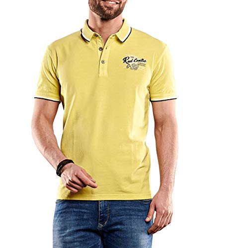 engbers Herren Besticktes Poloshirt, 27721, Gelb in Größe XXL