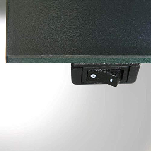 Concept2u Schalter Spiegel Kippschalter verdeckt rechts