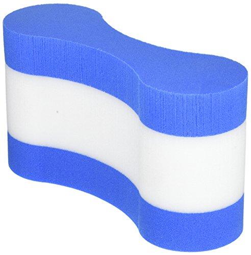 Pull Buoy/Schwimmhilfe, zweifarbig, Blau und Weiß, Einheitsgröße