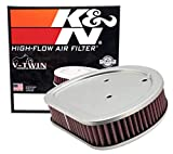 K&N Engine Air Filter: High Performance, Powersport Air Filter: Fits 1999-2015 HARLEY DAVIDSON (Heritage, Softail, Fat Boy, Breakout, Rocker, Fat Bob, Night Train, and other select models) HD-1499