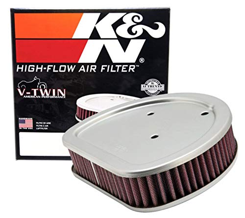 K&N Engine Air Filter: High Performance, Powersport Air Filter: Fits...