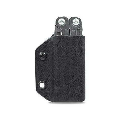 Clip & Carry Kydex Multitool Hülle für Leatherman Wingman / Sidekick/REBAR/REV – Made in USA (Multitool nicht im Lieferumfang enthalten) EDC Multi Tool Holster Cover