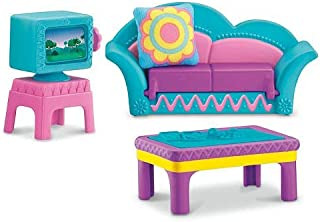 Fisher-Price Dora the Explorer Window Surprises Dollhouse, Living Room Furniture