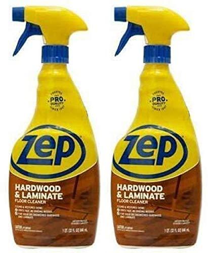 Zep Hardwood and Laminate Floor Cleaner 32 Ounce ECZUHLF322 (Pack of 2)