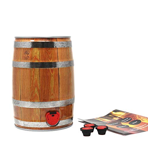 #MyBrewery. Set beer barrel per birra artigianale. Party Keg Set. Prendi la birra dove vuoi