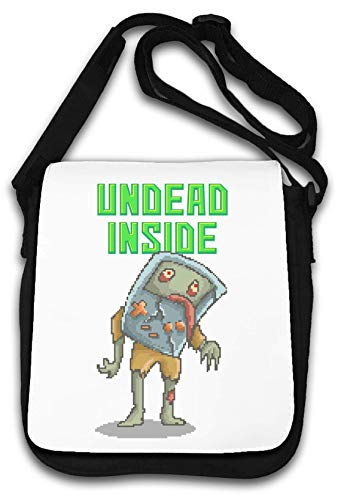 Undead Inside Retro Console Pixel Art Bolsa de Hombro