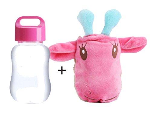 les mains au chaud de la Coupe Portable Coupe Cartoon Coupe, rose vache