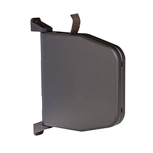 Recogedor Abatible de Persiana Con Cinta Enrollable Mini de 5 m y 14 mm de ancho Recogedor de Cinta Montado en Superficie con Sistema de Bisagra Bayram®