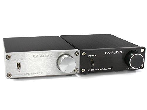 『FX-AUDIO- FX202A/FX-36A PRO『シルバー』TDA7492PEデジタルアンプIC搭載 ステレオパワーアンプ』の6枚目の画像
