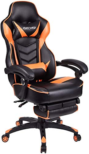 Video Gaming Chair Racing Office -...