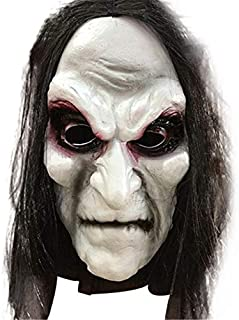 Halloween Zombie Mask Props Grudge Ghost Hedging Zombie Mask Realistic Masquerade Halloween Mask Long Hair Ghost Scary Mask U Must Have Friendship Gifts Girl S Favourite Superhero Decorations
